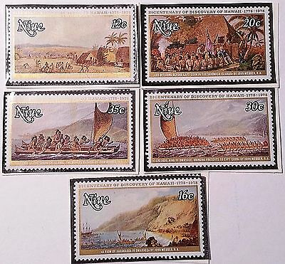 Niue Scott#214-218 Mint/nh   Stamp...worldwide Stamps