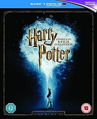 Harry Potter: The Complete 8 Film Collection [New Blu-ray]