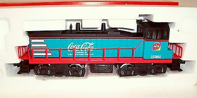 New Coca Cola K-Line K-1734 Limited Edition Train Set O Gauge Nib Plus Gifts