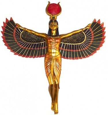 Isis Egyptian Statue Ancient Egypt Figure Decor Wall Mount Hanging Sculpture New