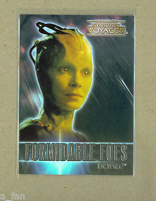 Star Trek Voyager Formidable Foes #F 2 Borg.  Susannah Thompson Rittenhouse