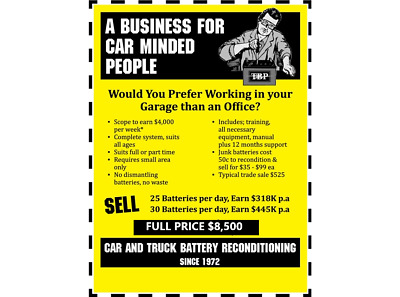 Business For Sale:  Nsw  $8,500
