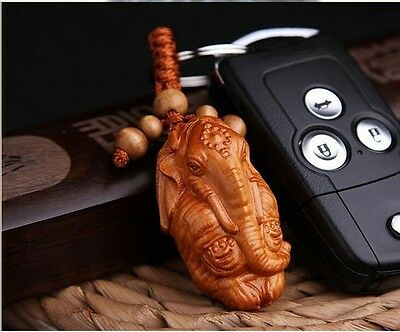 40*25MM Hand-carved  Wooden Crafts, Key Chain, Key Ring g5