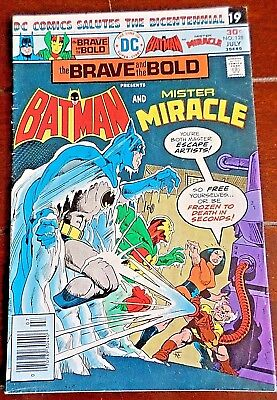 The Brave and the Bold #128 (1975, DC) Batman/Mister Miracle: Death by the Ounce
