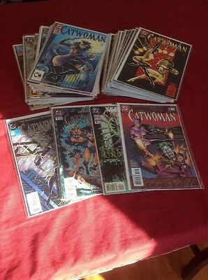 Catwoman 0, 1- 49 (1993) Complete Run! Plus Annuals 1,2,3!