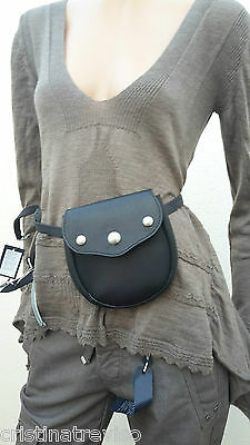 HIGH use sac ceinture cuir leather bag belt cintura pelle NEW