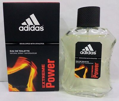 Uomo-Profumo ADIDAS EXTREME POWER Eau De Toilette 100ML Spray OFFERTA