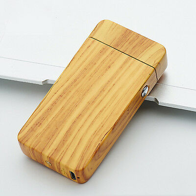 Flameless Patterned Cigarette Lighter Dual Arc USB Electric Plasma Rechargeable
