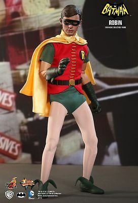 BATMAN - 1966 Robin 1/6th Scale Action Figure (Hot Toys) #NEW