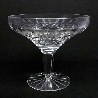 "Waterford Crystal 5 1/4"" Lismore Footed Pedestal Candy/Nut Dish Bowl EUC!"
