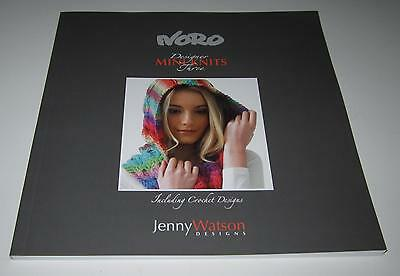 NORO MINI KNITS knitting and crochet pattern book #3 with 30 designs for Family