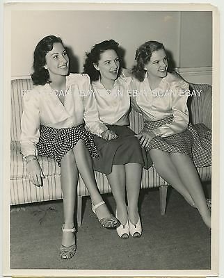 Judy Garland And Her Sisters Suzanne Virginia Rare Vintage Photo
