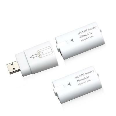 For Xbox One S / Xbox One Controller Rechargeable USB Batteries (2 pack) Charger
