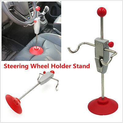 Universal Steering Wheel Holder Stand Wheel Alignment Tool 14.5'' For Car Truck