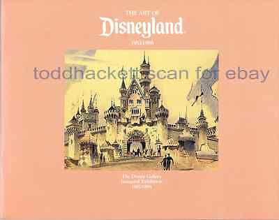 '87 Art of Disneyland Gallery Premiere Exhibition Book Mary Blair Marc Davis
