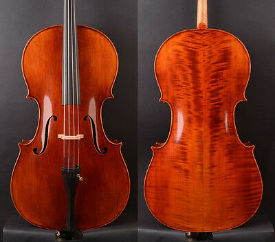 Special offer! An advanced 1/2 Size Modern Strad style Cello Deep Tone