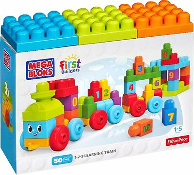 MEGA BLOCKS / DKX60 / Building bricks 123 Learning train