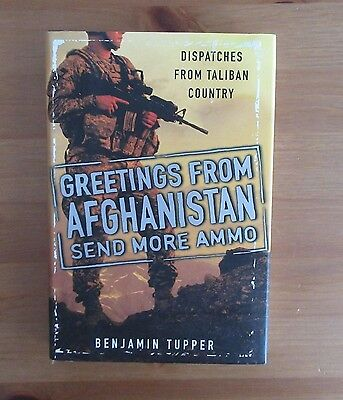 AFGANISTAN US ARMY VET BOOK tupper OEF NATIONAL GUARD