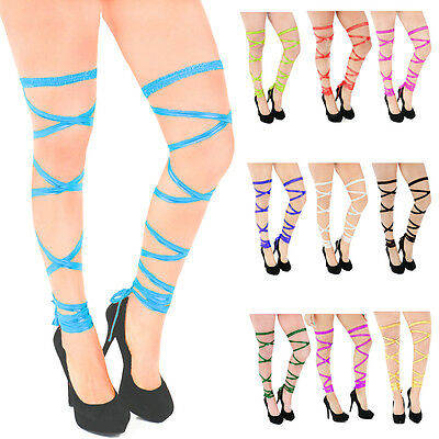 Sexy Exotic Leg Thigh Wraps Tie Strap Dance Party Clubwear Rave Festival Bandage