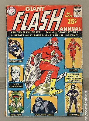 Flash (1959 1st Series DC) Annual #1 GD- 1.8 LOW GRADE