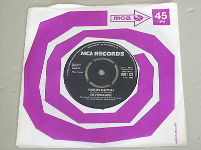 The Persuasions: Good old acappella   STUNNING NEAR MINT  7""