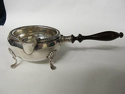 Fisher Sterling Fine 4-Ftd Gravy Sauce # 1096 Wood Handle Excellent Condition