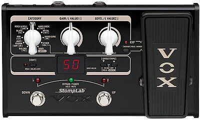 VOX Compact multi-effector StompLab SL2G for VOX Guitar New