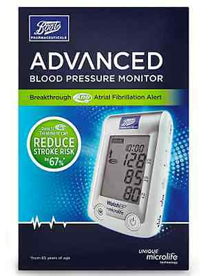 Boots Pharmaceuticals Advanced Blood Pressure Monitor Upper Arm Unit New Boxed