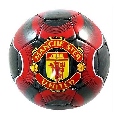 Manchester United Soccer Ball Red New Size 5 Official Licence