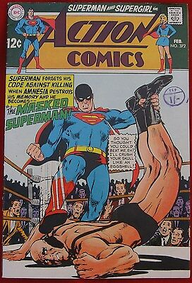 The masked Superman - Action Comics 372 - Feb 1969