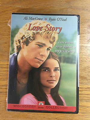 Love Story (DVD, 2001), Ryan O'Neal, Ali MacGraw Brand New Sealed