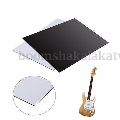 3Ply 3 Ply Electric Guitar Bass Pickguard Blank Sheet Scratch Plate Pick Guard