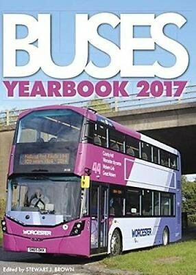 Buses Yearbook 2017 by Stewart J. Brown 9781910415627 (Hardback, 2016)