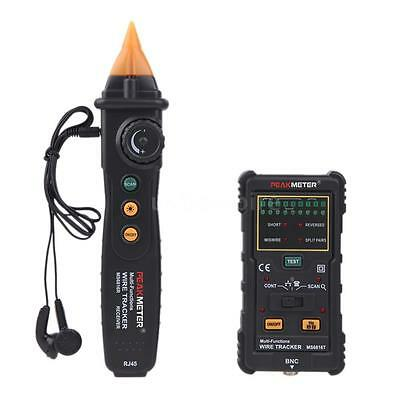 Phone Telephone Network Cable Wire Line Cable Tracker Tracer Tester MS6816 N8A0