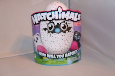 Hatchimals Hatching Egg Bearakeet by Spin Master - Pink/Black