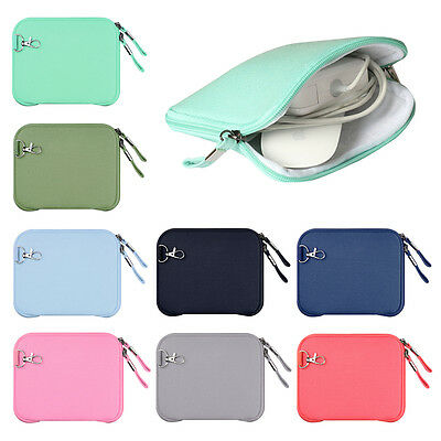 Portable Organizer Bag Case Storage Pouch for Mouse Cable Power Charger Adapter