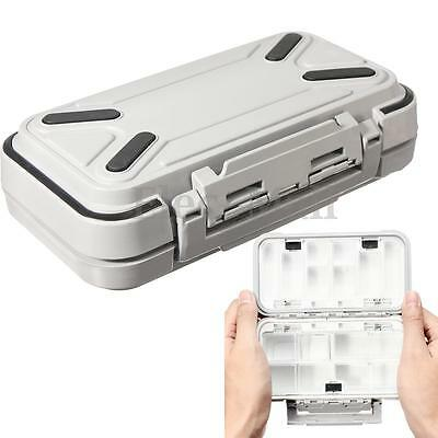 Fishing Lure Hook Bait Tackle Waterproof Storage Box Case with 16 Compartment