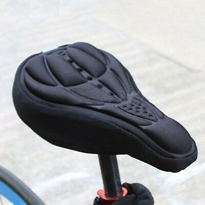 Racing Cycling Bicycle Bike 3D Gel Pad Seat Saddle Cover Soft Cushion Pallet