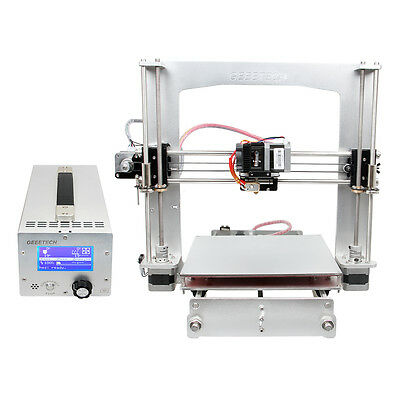 Ship from UK Geeetech Full Aluminum frame Prusa I3 3D Printer 3 in 1 box GT2560