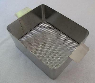ULTRASONIC CLEANING BASKET 950P STAINLESS STEEL 10.5 x 8.3125 x 5 Degreasing