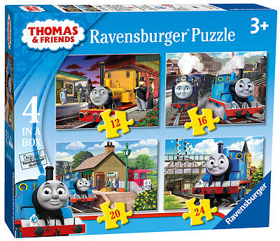 07070 Ravensburger Thomas & Friends 4 in Box [Children's Jigsaw Puzzle]