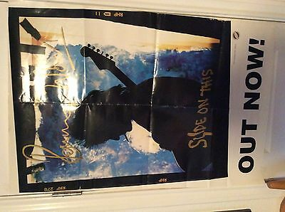 RON WOOD: Slide on This, PROMO POSTER