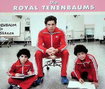 Ben Stiller THE ROYAL TENENBAUMS lobby cards 8 original vintage stills 2001