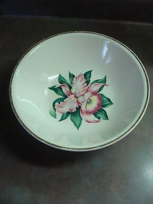 Paden City Pottery Modern Orchid Vegetable Serving Bowl
