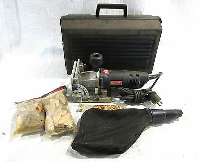 Sears Craftsman Professional Plate Joiner 900.277300 6.5 Amp with Case