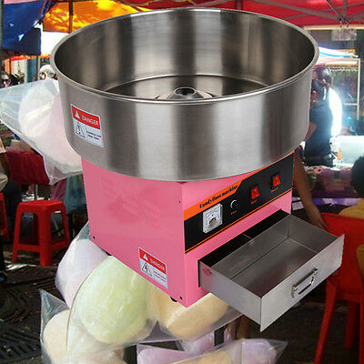 1300W Electric Cotton Candy Machine Floss Sugar Maker Home Party Holiday Snacks