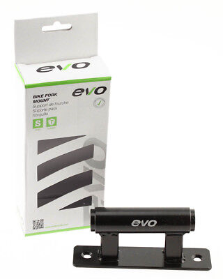 EVO Bike Fork Mount 20mm x 110mm Thru Axle Van and Truck Bed Bike Carrier NEW
