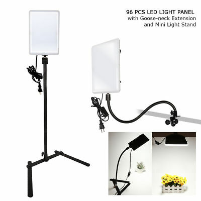 Photography 96 LED Gooseneck Studio Video Light Panel Camera Photo Lighting