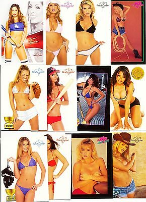 Super Size  ~  50  Card Lot  ~  Various  Benchwarmer  Models  +  Years  ~  Hot !