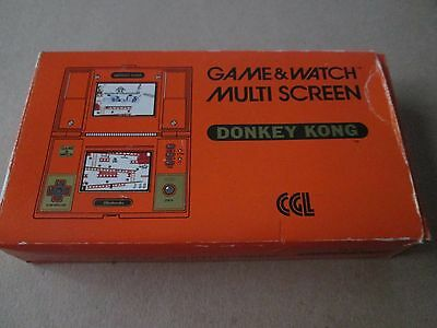 NINTENDO Donkey Kong DK-52 Game and Watch 1982 Boxed Perfect Working Order Retro
